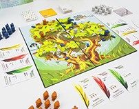 """Hoots, Claws and Feathers"" Board Game"
