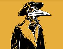 Birds in Row / The Prestige / Joliette TOUR POSTER