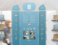 TobeUs | Shop Display and Visual Communication