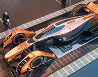 McLaren MP4-X (MCL32 livery)