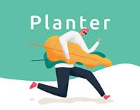 Plant app/Planter