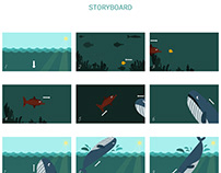 Motion Graphics - The Food Chain Project