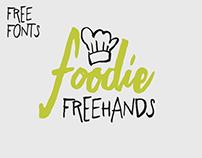 Freehand type system - randomized handmade brush font