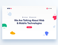 WTK18 Event Landing Page