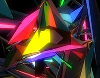 Polygonal Dynamic Visuals VJ Loops Pack