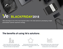 Ve Black Friday 2018 landing page