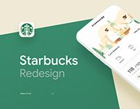 Starbucks - UI/UX Redesign