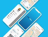 ParkHere Mobile App UI