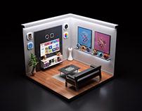 My Room - My works