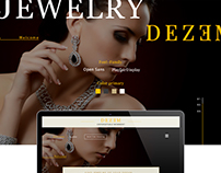 Homepage Design Jewelry
