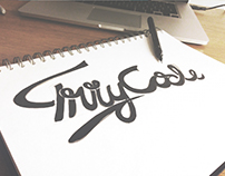 Truly Code Lettering Sketch