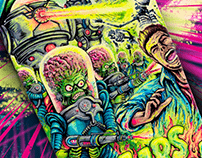 MARS ATTACKS!!!! THEY ARE BACK ACK ACK ACK