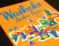 Waiheke Amber Pages Cover Illustration