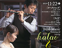 hatao & nami Irish Music Workshop & Live in Matsue