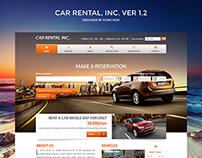 Car Rental, Inc. Ver 1.2