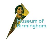 Museum of Birmingham visual identity