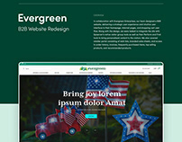 Evergreen Enterprise B2B Website Redesign