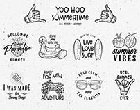 YOO HOO | Vintage Rustic Logo Template. DOWNLOAD