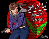 Undercover Chun Li -Agent of Interpol