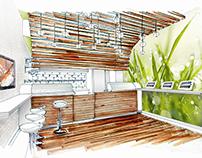 Sushi K Bar- Design Concept