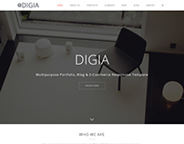 Digia - Creative Responsive Multipurpose Template