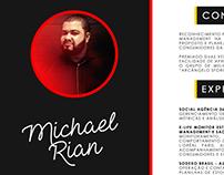 Currículo Publicitário - Michael Rian