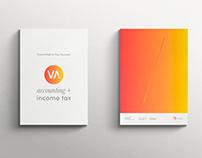 VA Accounting + Income Tax branding