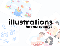 Illustrations for Fast Rewards