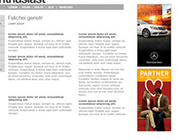 Mercedes-Benz 2007 C-Class Launch Campaign Banner
