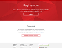 MicroStrategy Symposium Web Pages