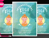 International Yoga Day Flyer + Social Media post