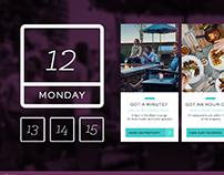 Interactive Hotel Virtual Concierge Concept