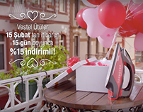 VESTEL - VALENTINE'S DAY TVC & DIGITAL CAMPAIGN