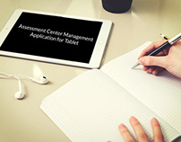 Assessment Center Management - Tablet Application