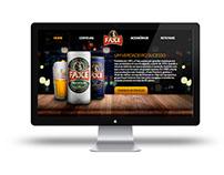 Hotsite Cervejaria Faxe - Redação