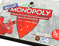 Hood Monopoly: Bloods Edition