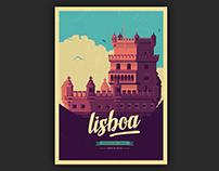 Poster Art - Lisbon