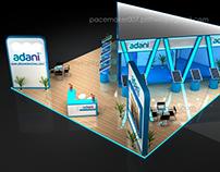 Adani Group Stall Design