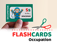 Big flash card set: occupation
