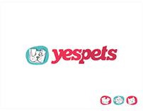 YesPets.com Logo Design