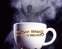Inspireing poster for Rangpur Riders