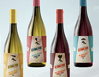 Flying Fox Wine Packaging