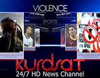Vizrt Kurdsat News Website Promotion.