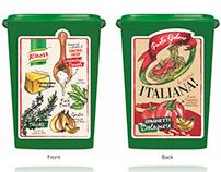 Packaging Design - KNORR World Cuisine Series