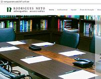 Website Development: RODRIGUES NETO Advogados Associad