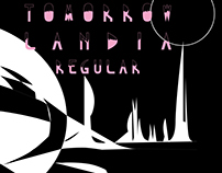 Tomorrow Landia Regular Typeface