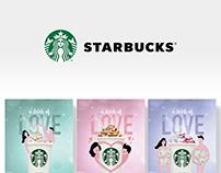 Valentine's Day with Starbucks