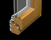 Window frame Cau