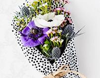 Publicidad Flores + Diseño