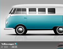 Vw T1, T2 and T3...